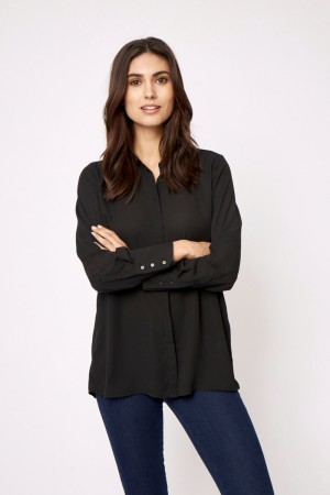 Cemre Black Shirt