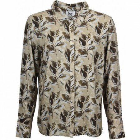 Hawa Shirt Army Leaves