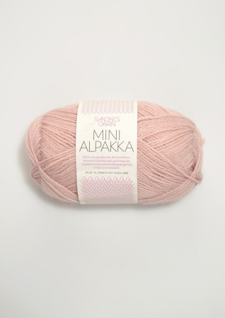 Mini Alpakka 3511 Pudder Rosa